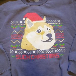 Other - DOGE MEME SUCH CHRISTMAS UGLY XMAS SWEATER XL